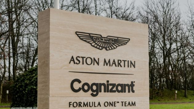 Aston Martin F1 confirm Cognizant as title partner