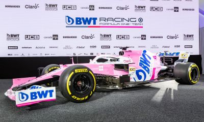 Racing Point F1 reveal BWT as new title sponsor