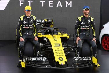 Renault F1 get DP World rebrand in naming rights deal